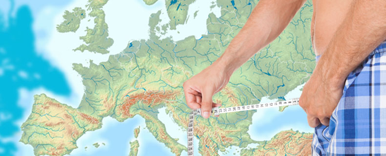 Penis durchschnittsgröße deutschland