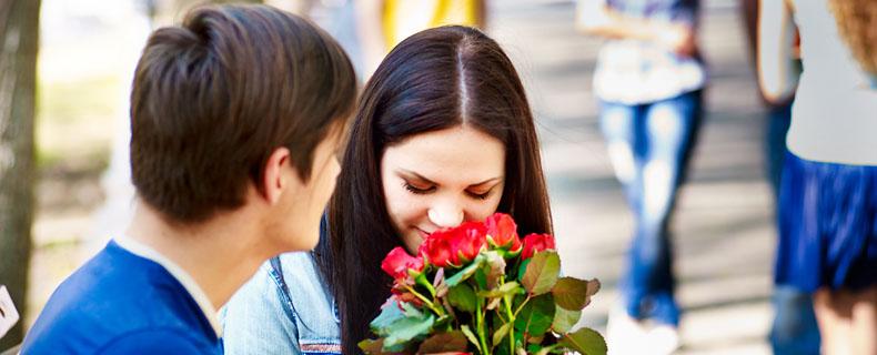 Mädels flirten