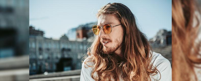 Mit lange bart männer haare Lange Haare